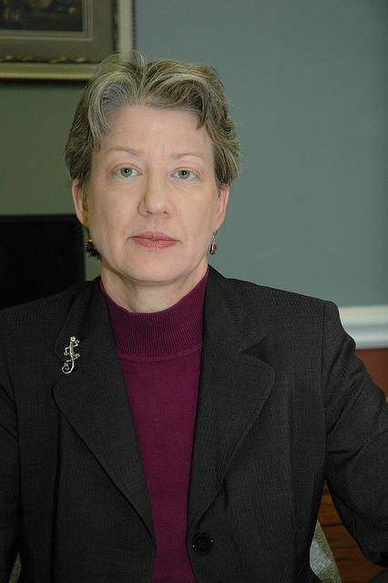 State Budget Director Linda Luebbering