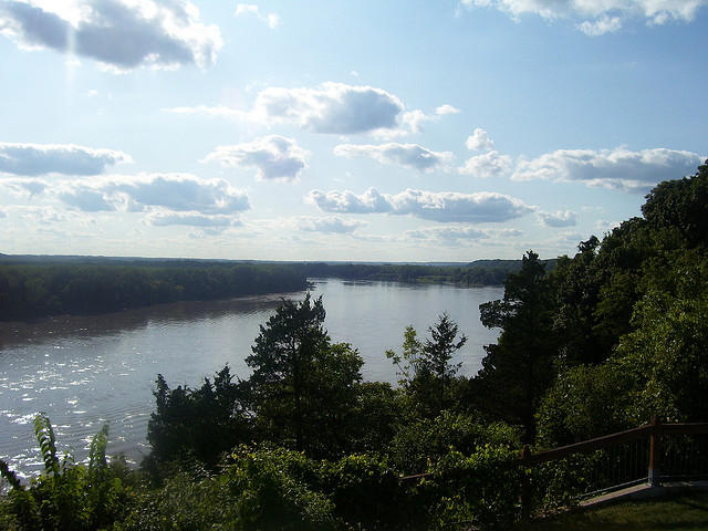 Missouri River at Rocheport