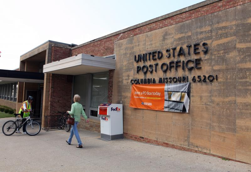 Post Office in Columbia
