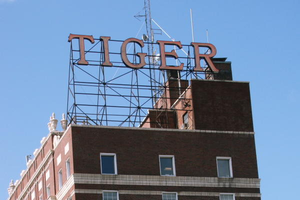 The Tiger Hotel in downtown Columbia.