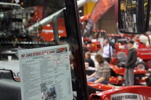 Customers browse new machinery at Kansas City's Western Farm Show in March.