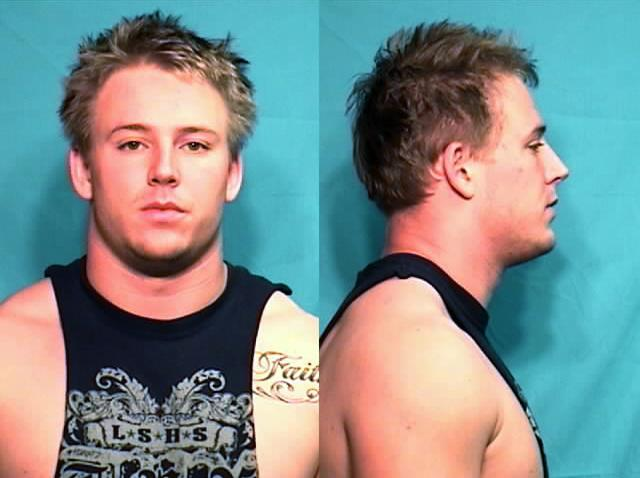 Corbin Berkstresser was arrested Tuesday morning.