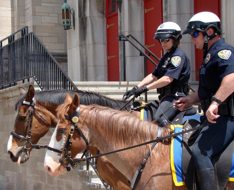 Columbia Horse Police