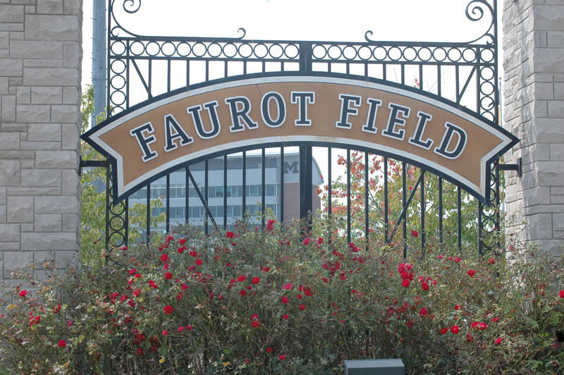 Faurot Field sign