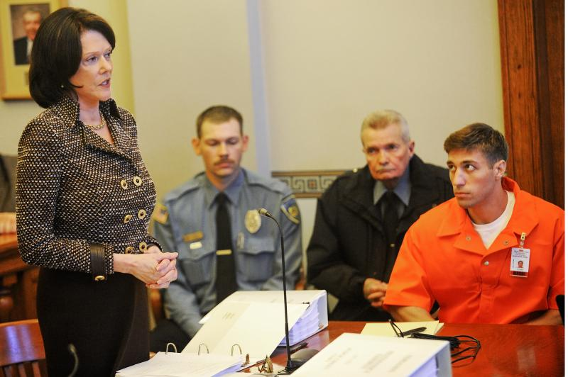Ryan Ferguson, at his hearing in Cole County, April 18, 2012