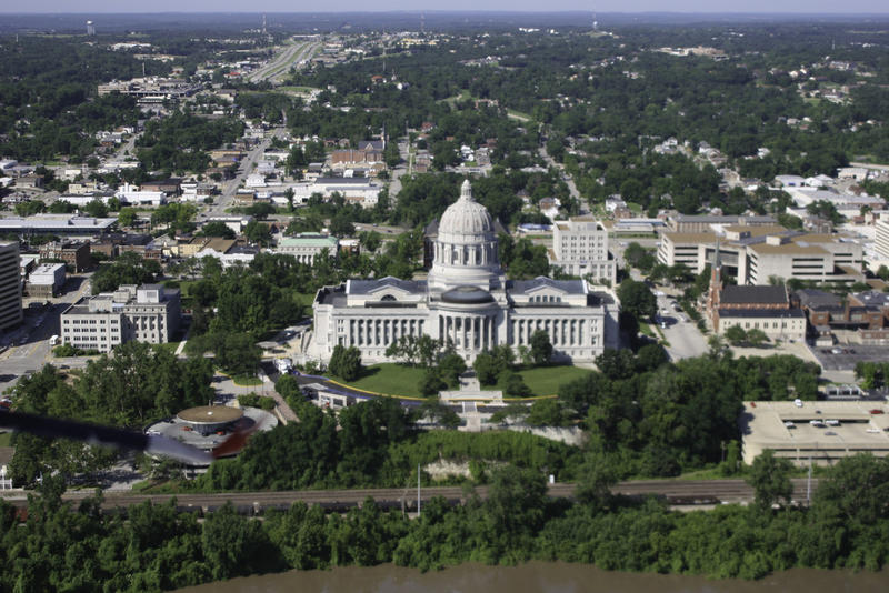 Jefferson City aerial view