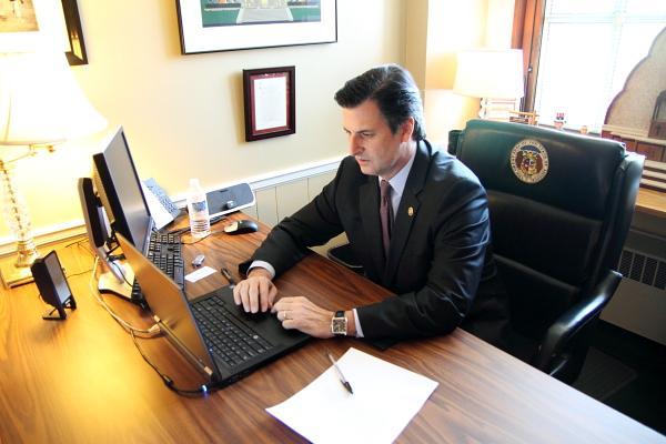 Republican State Senator John Lamping, of St. Louis County.