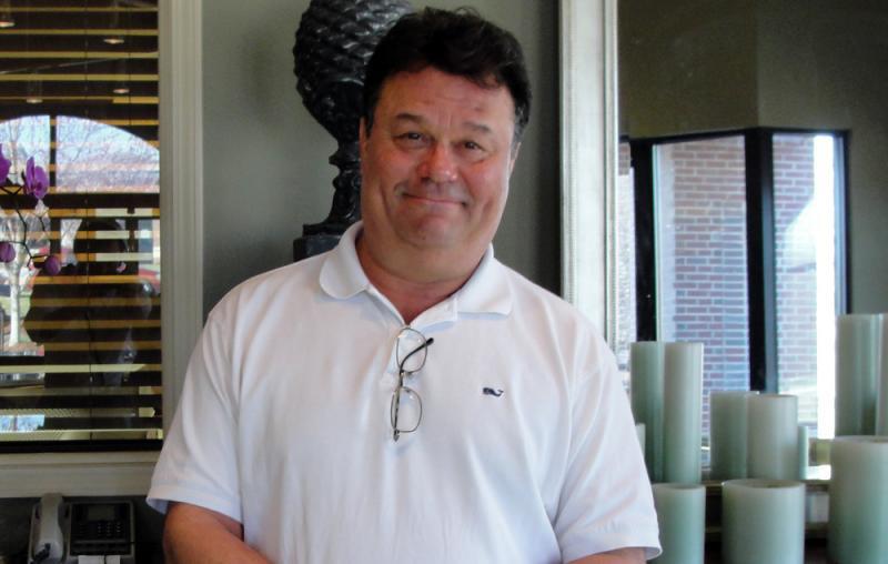 Gary B. Robinson, owner of Gary B. Robinson Jewelers.