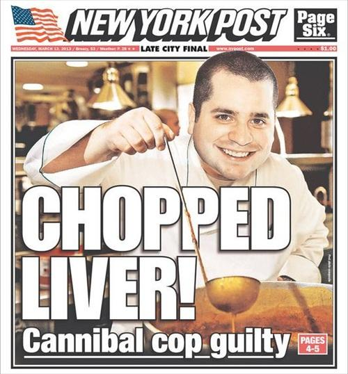 New York Post cannibal picture photoshopped