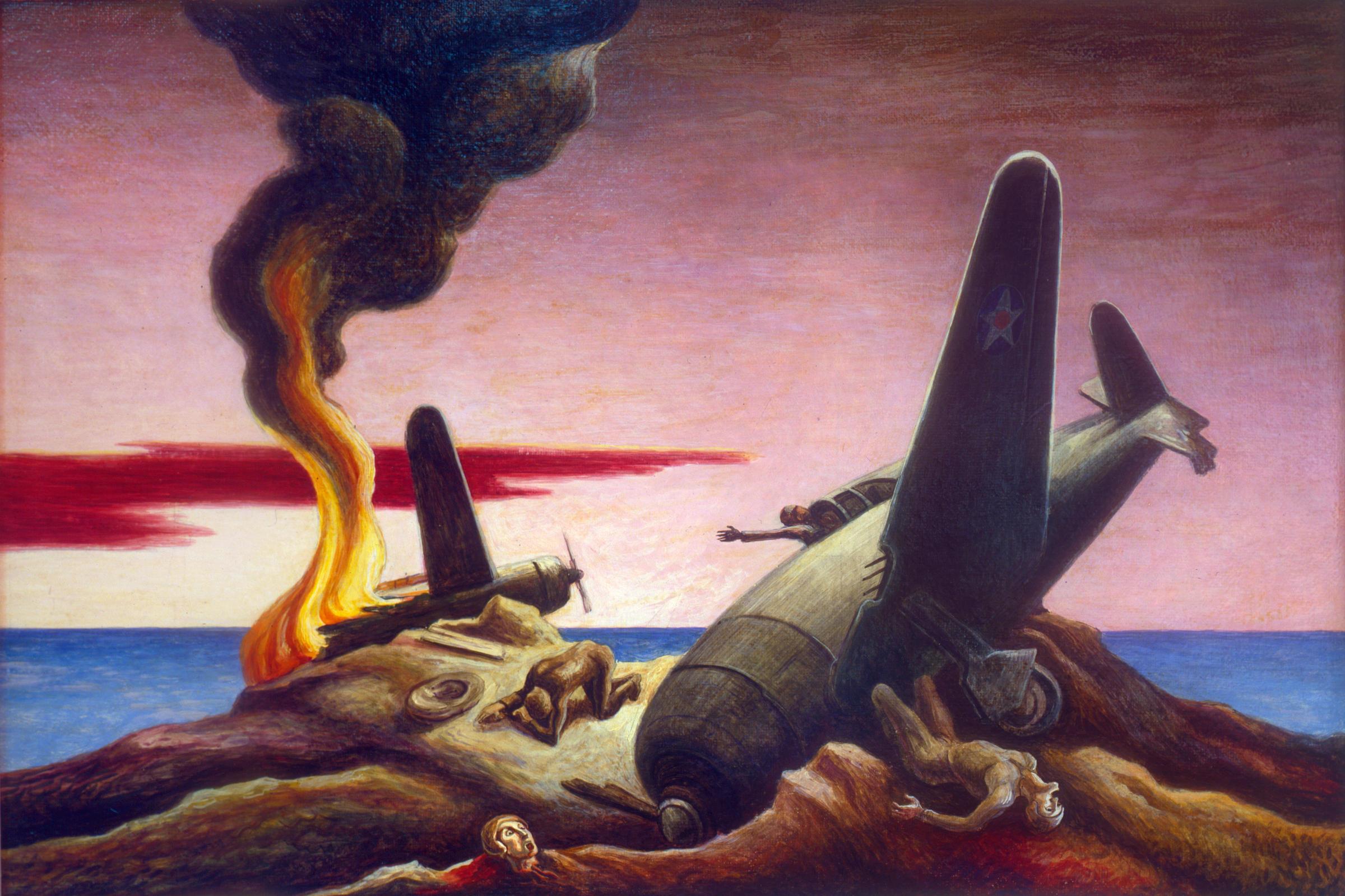 Thomas Hart Benton War Paintings And Sketches Kbia