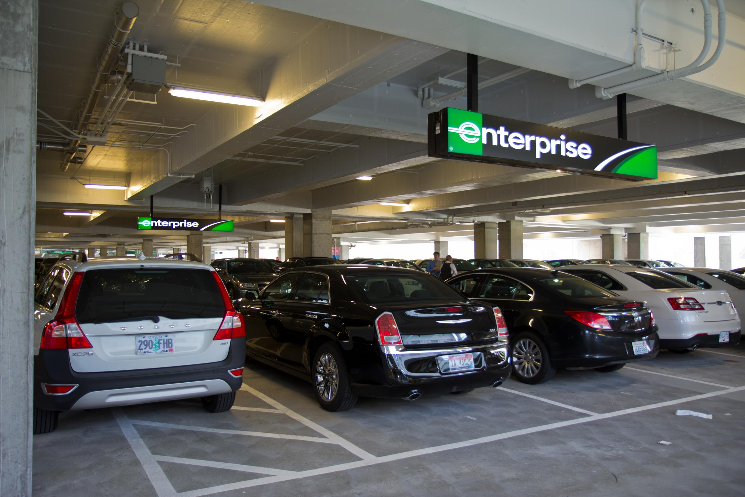 Enterprise Car Rental Houston International Airport