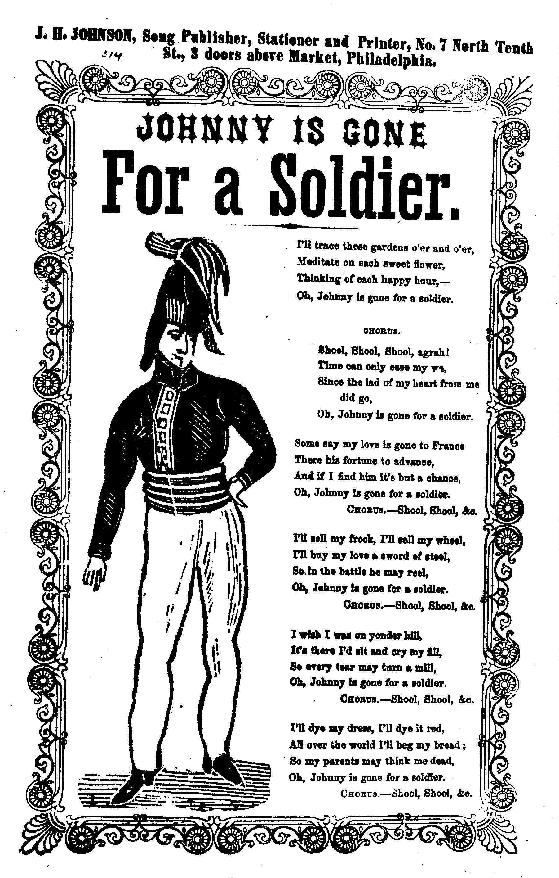 soldier of fortune lyrics