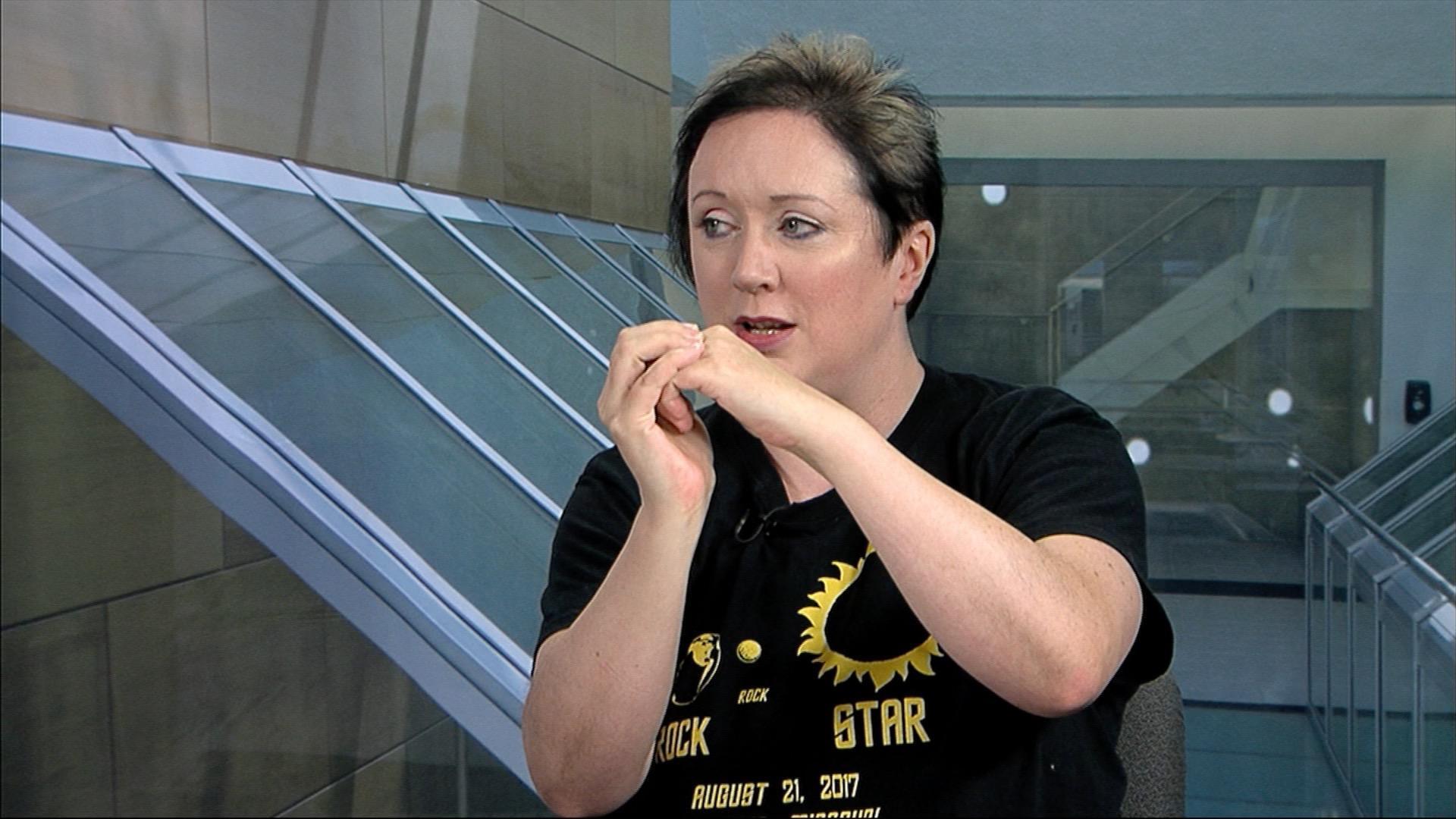 Paul Pepper: Angela Speck, Professor of Astronomy, MU ...