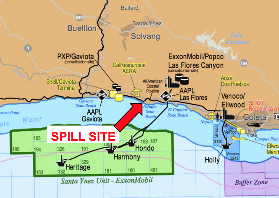 Santa Barbara County S Refugio Beach And Campground Closed Following Oil Spill Kcbx