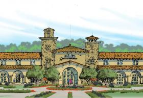 Artist depiction of the Ayers Resort and Spa planned for later this year in Paso Robles.