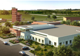 Artistic rendering of the now completed Public Safety Training Center in Lompoc.