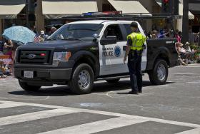 Members of the Santa Barbara Police Department.