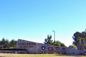 Entrance to Vandenberg Air Force Base, Calif.