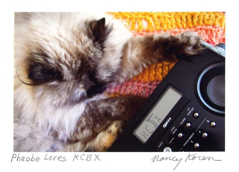 Phoebe Loves KCBX