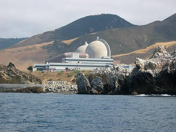 PG&E's Diablo Canyon Nuclear Power Plant sits on the San Luis Obispo County coast.
