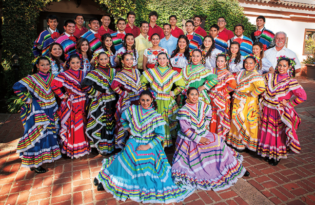 Santa Maria Students Connect With Mexican Culture Through Music And Dance Kcbx