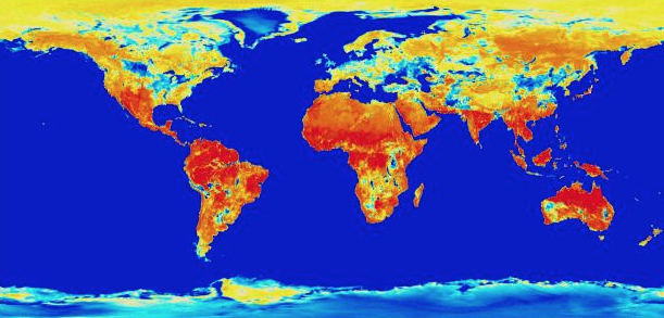 First Global Maps Of The World S Moisture Content Could Help Track California Drought
