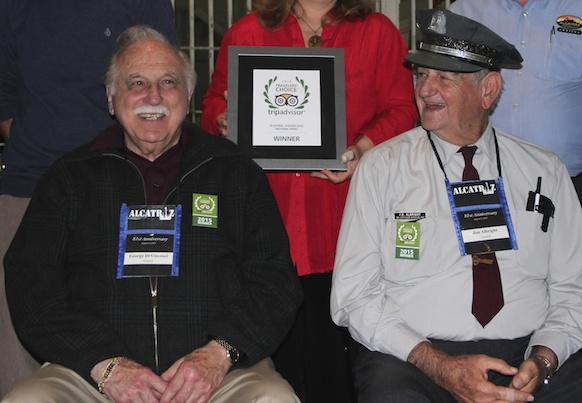 Former Alcatraz Guard George DeVincenzi