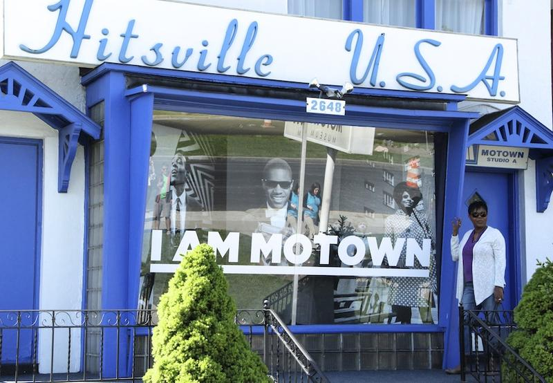 Motown Records Museum downtown Detroit
