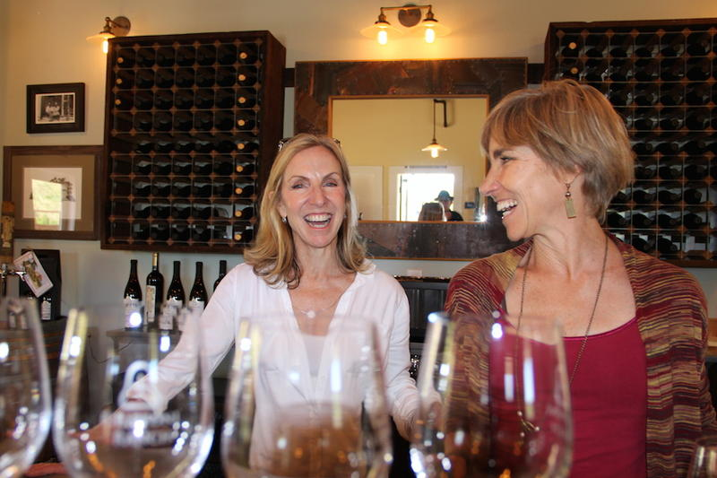 Herb Filipponi's daughters continue the family's ag legacy at Filipponi Cellars on the outskirts of San Luis Obispo
