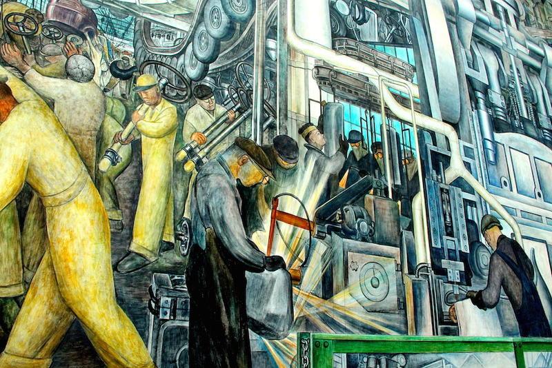 Diego Rivera's Detroit Circa-1923
