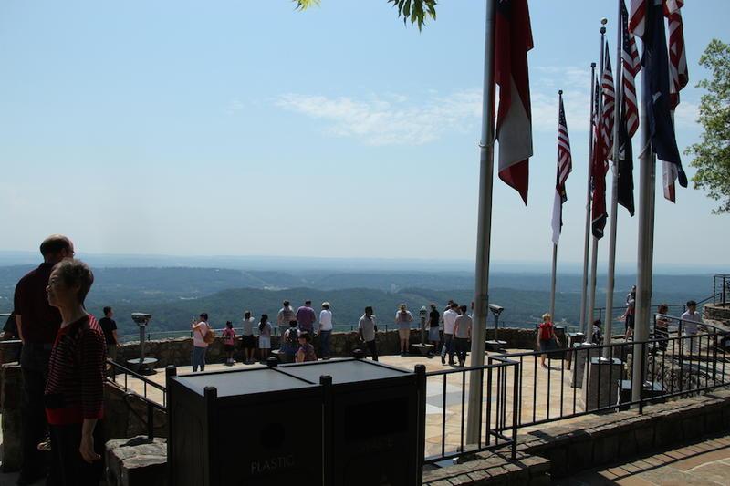 Rock City overlooking Chattanooga
