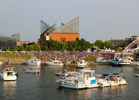 The Annual Riverbend Music Festival in Chattanooga