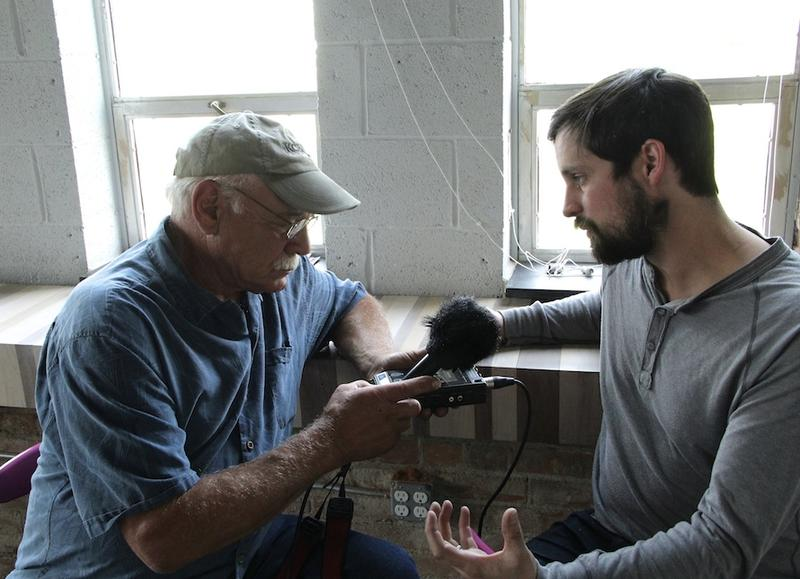 Phillip Cooley talks with correspondent Tom Wilmer for broadcast on NPR Podcast Journeys of Discovery with Tom Wilmer