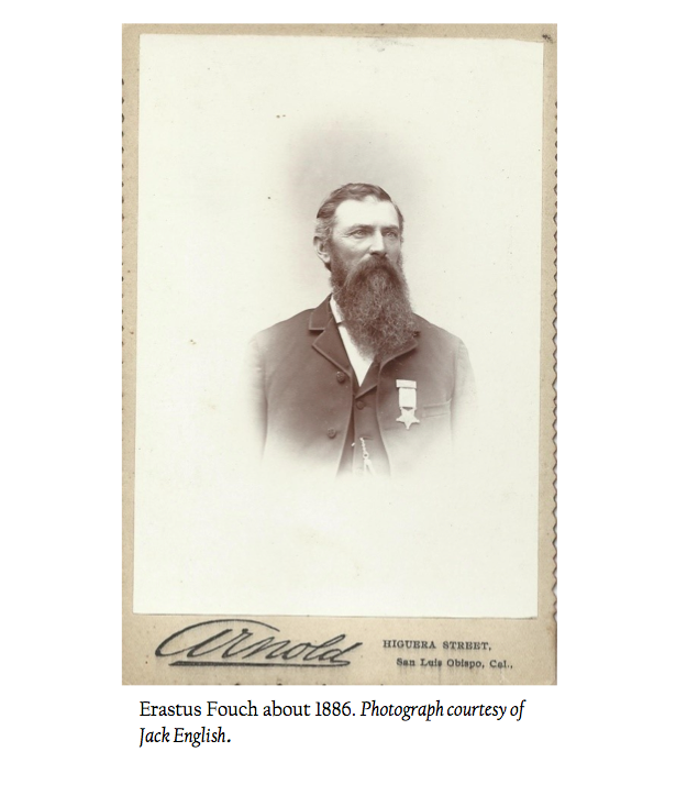 Arroy Grande resident, Erastus Fouch fought at Chancellorsville and Gettysburg
