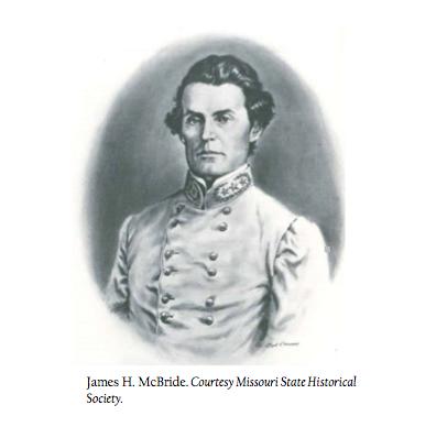 Jim Gregory's Confederate ancestor, James Haggin McBride