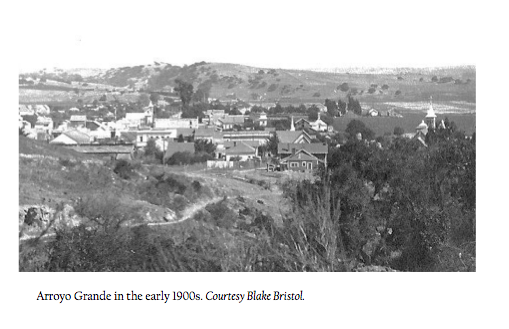 Arroyo Grande as it would have looked when Civil War vetarans settles here (population 900)