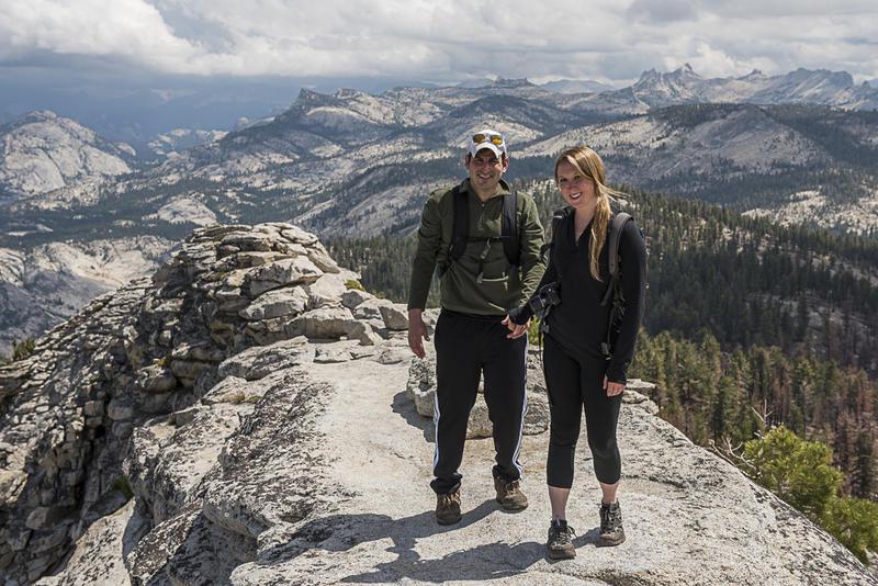 Yosemite Clouds Rest