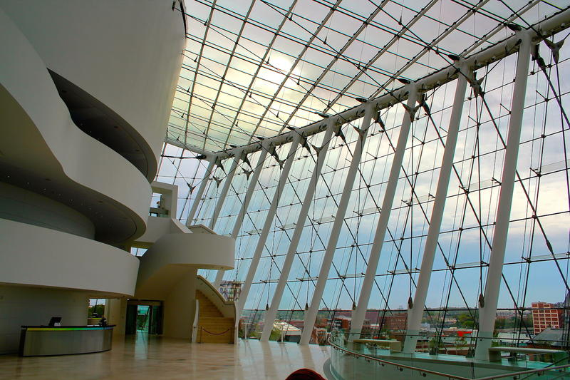 Dramatic architecture at Kauffman Center Kansas City MO
