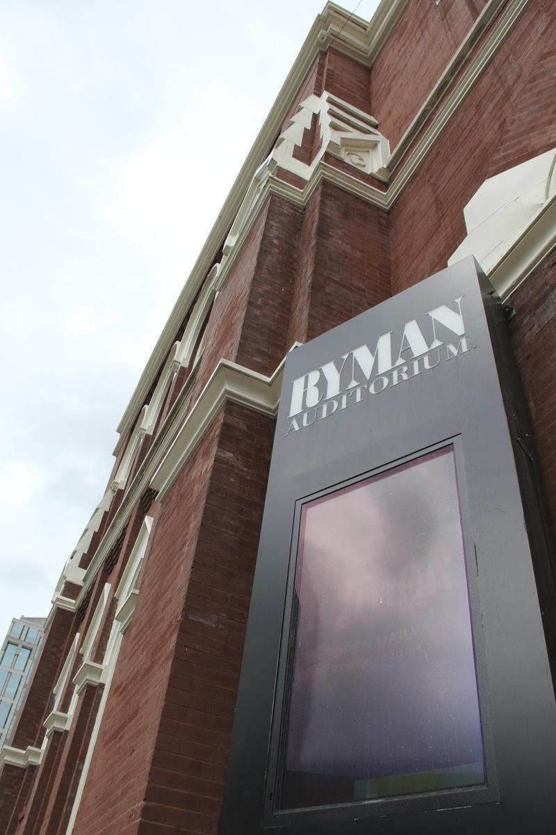 Front facade Ryman Auditorium