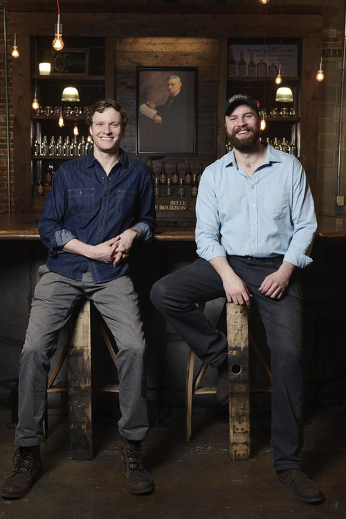 owners Andy and Charlie at Green Brier Distillery