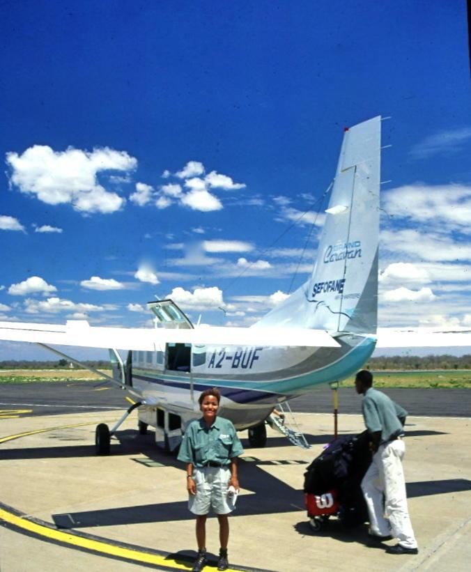 Botswanan bush plane