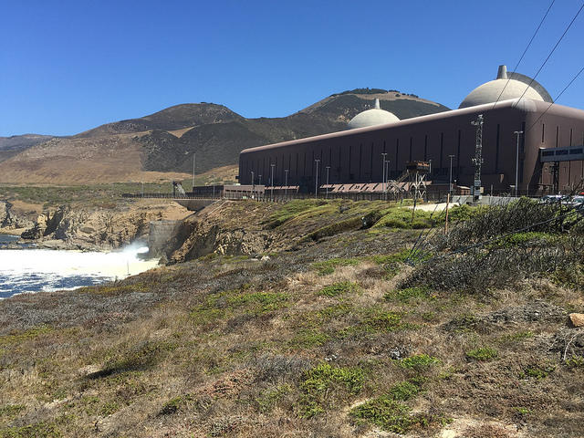 A view of the Central Coast's Diablo Canyon nuclear power plant