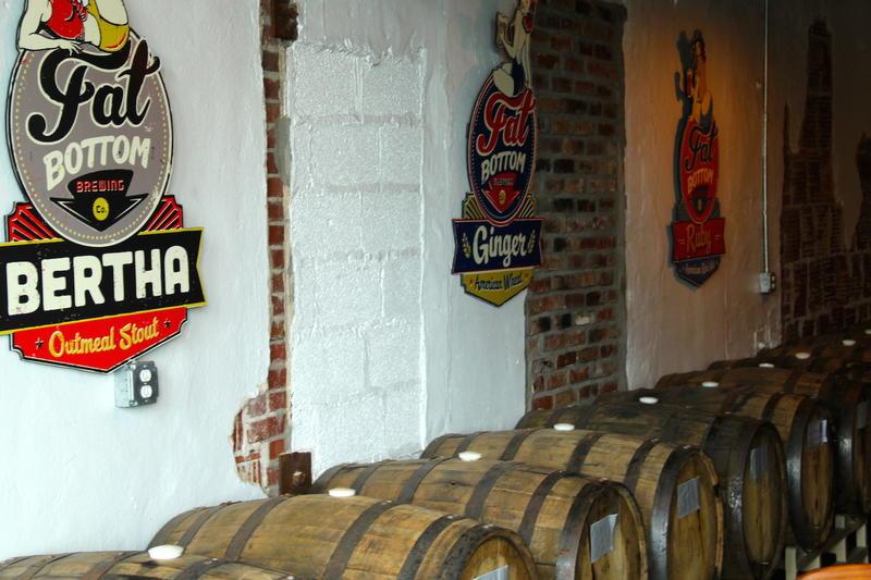 Fat Bottom Brewing warehouse