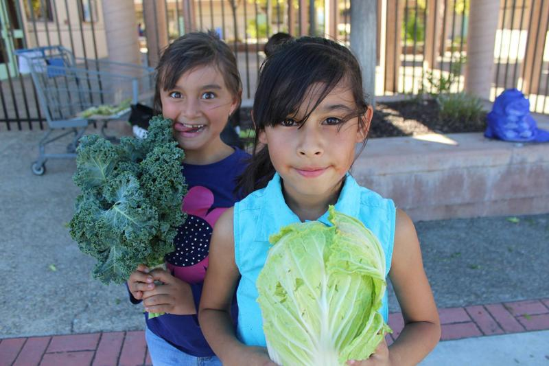 Two Central Coast girls benefit from the Food Bank's summer programs