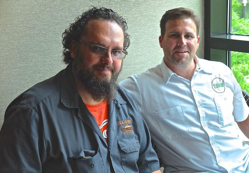 James Hudec and John Russ