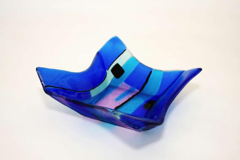 Glass dish by Stephanie Wilbanks