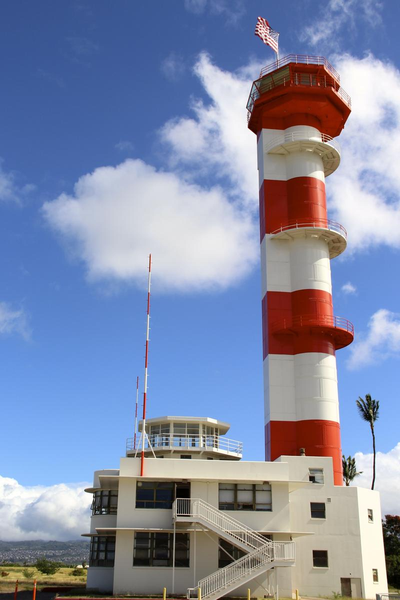 Control tower Ford Island, Pearl Harbor