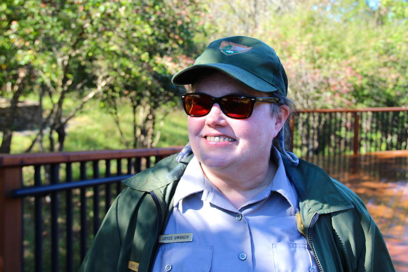 National Park Ranger Joyce umbach