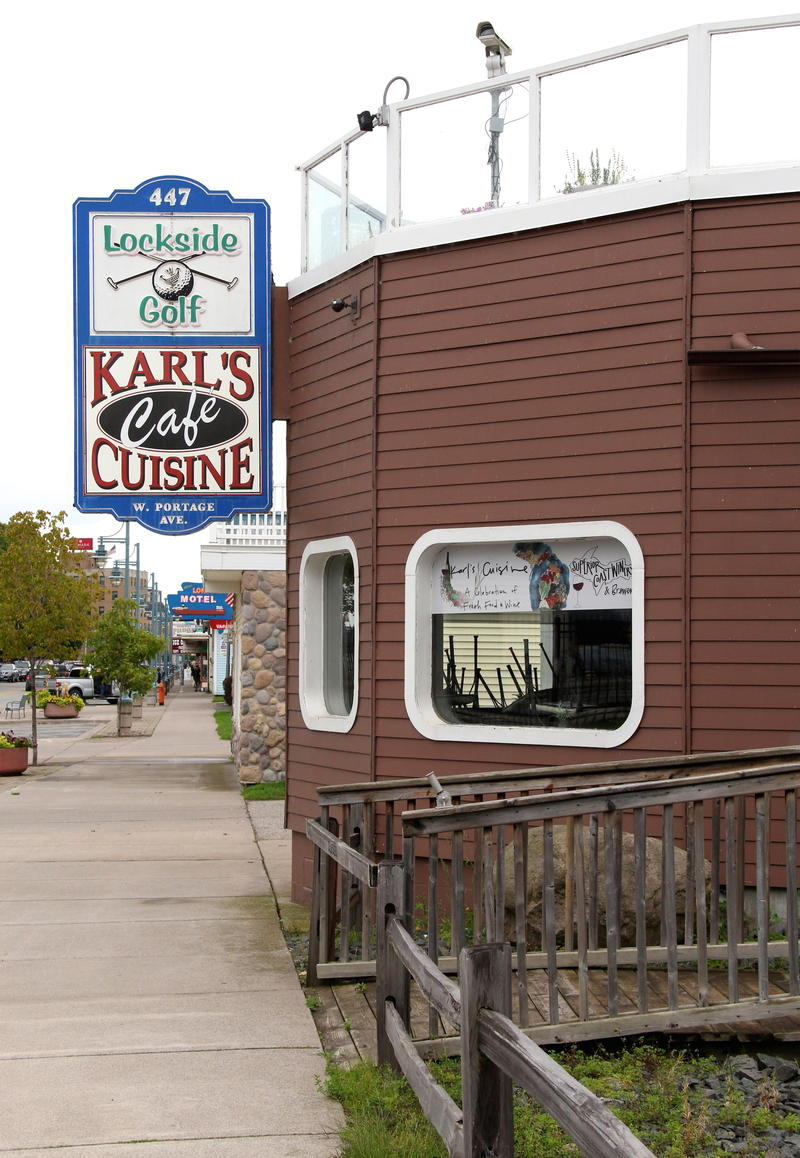 Karl's Cuisine Cafe downtown Sault Ste Marie, Michigan