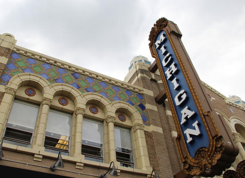 Classic Michigan Theater in downtown Ann Arbor
